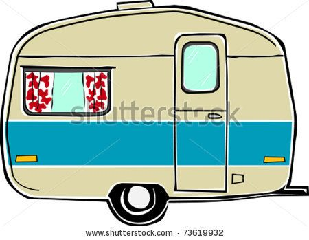 Clipart Rv Trailer