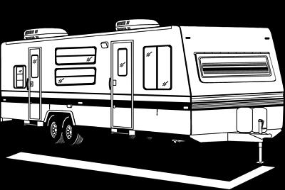 Camper Clipart.