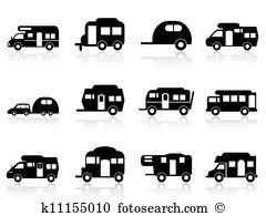 Camper Clip Art and Illustration. 2,777 camper clipart vector EPS.