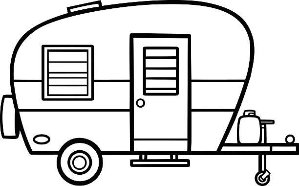 Best Rv Camper Illustrations, Royalty.