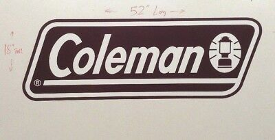 COLEMAN DUTCHMEN LIGHT Series Rv Front Logo Decal 52\