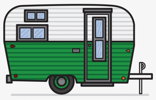 Free Camper Clip Art with No Background.