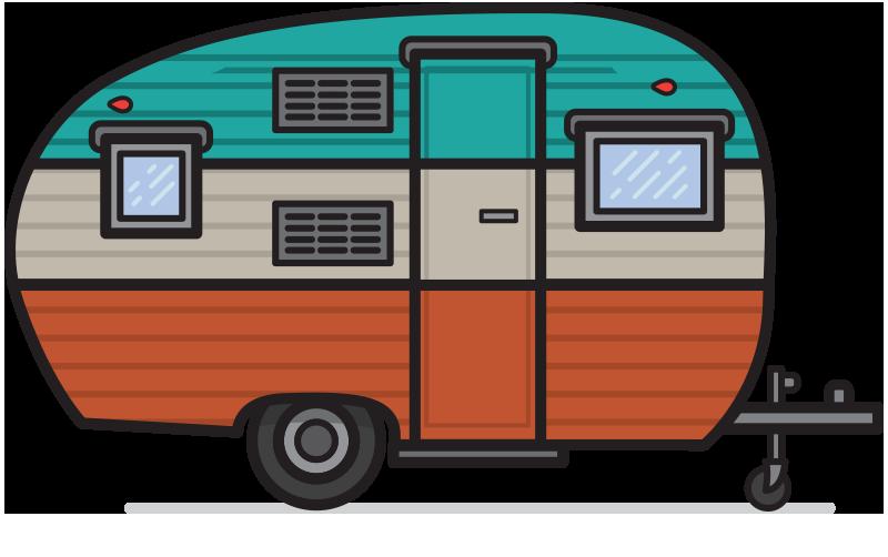 Vintage Camper Png & Free Vintage Camper.png Transparent Images.