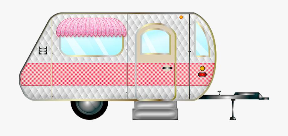 Trailer, Caravan, Retro, Camper, Camping, Travel.