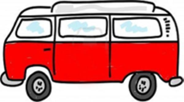 Clip Art Camper Van Clipart.