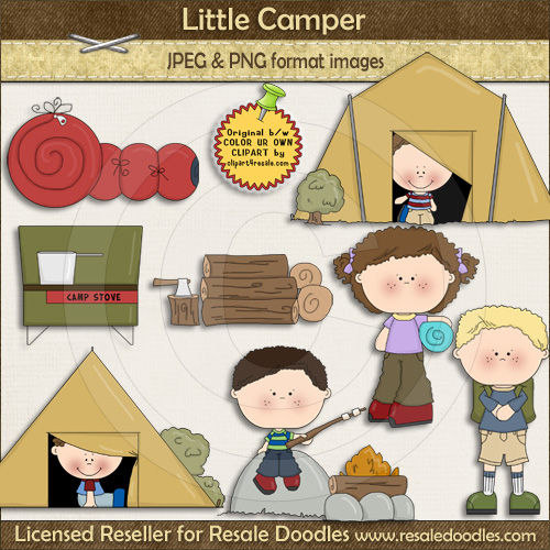 Campers clipart.