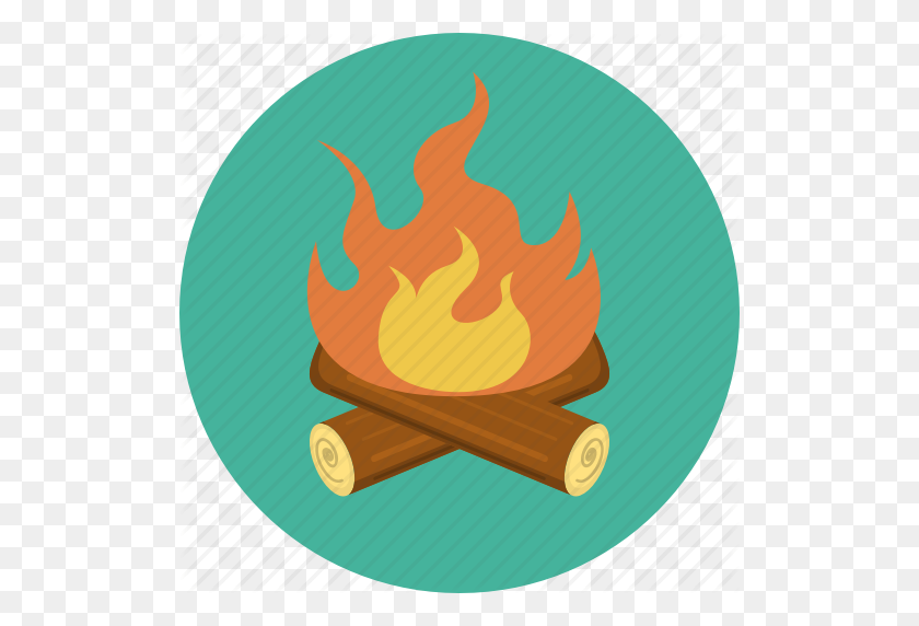 Cartoon Campfire.