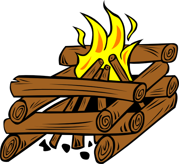 Camp Cooking Clipart.