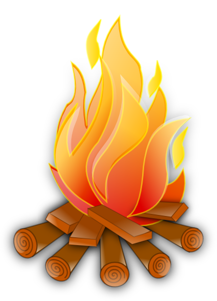 Campfire Clip Art at Clker.com.
