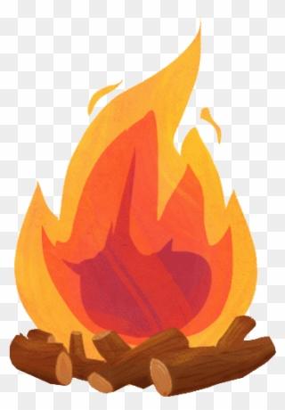 Camp Fire Gif Clipart Campfire Clip Art.