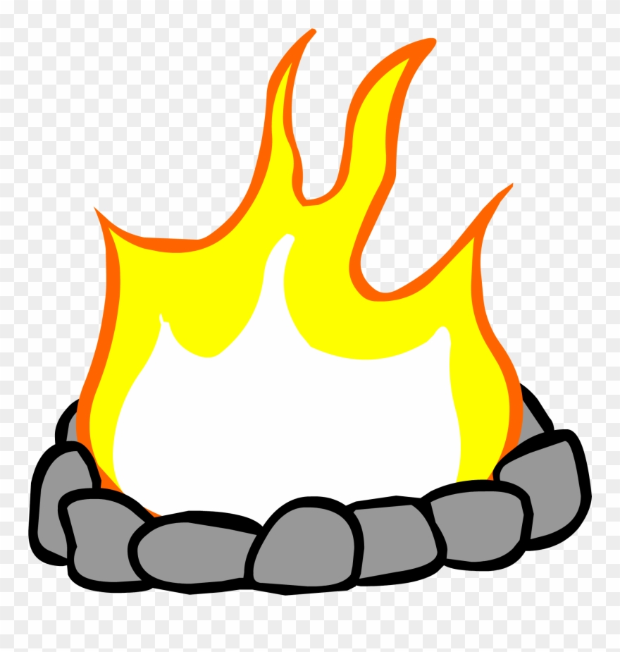 Campfire Clipart Fire Pit.