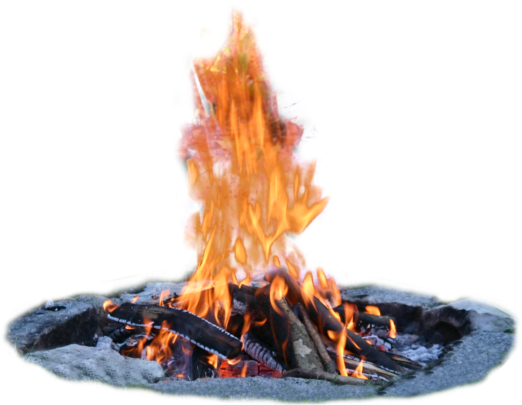 HD Campfire Png Transparent Image.