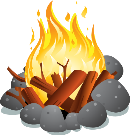 Campfire clipart png.