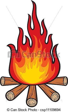 EPS Vectors of campfire csp11109694.