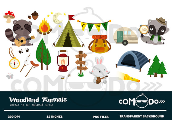 Cute Camping Clip Art Pictures to Pin on Pinterest.