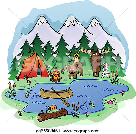 Camping Animal Clipart Clipground