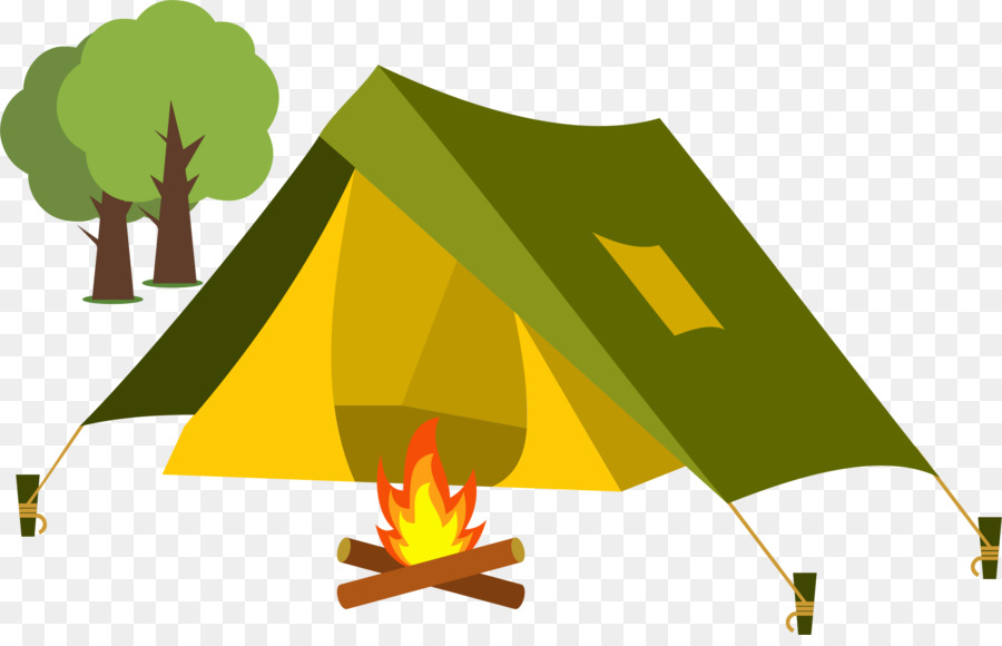 Tent Cartoon Camping Clip Art Set Up A To Make Fire Png Cool Images.