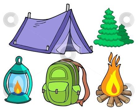 Girl Camping Clip Art Camping Clip Art Woman.