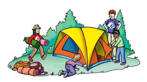 Girl Scout Camping Clipart Camping clipart - Clip...