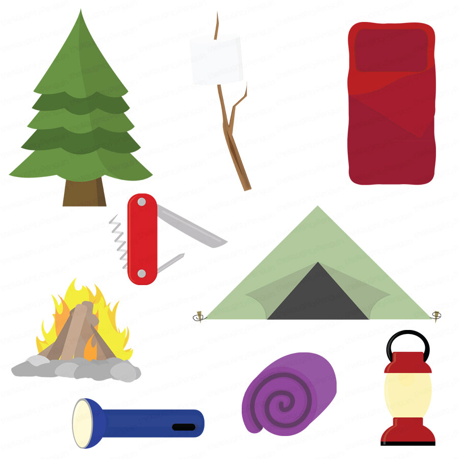 Camping clipart free images 10.