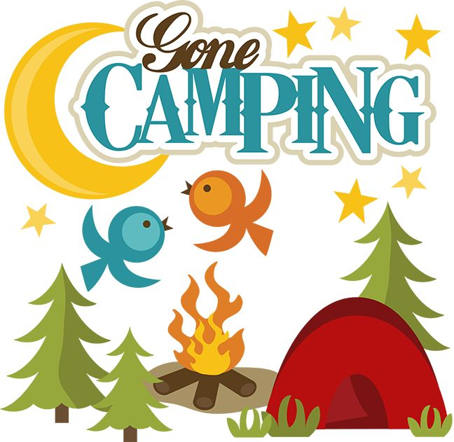 Free Camping Clipart.