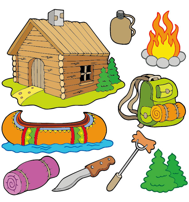 Woman Camping Clipart Free Download.
