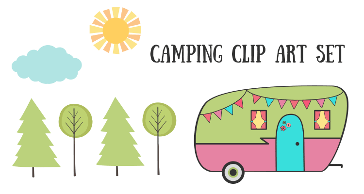 Free Camping Clipart & Camping Clip Art Images.
