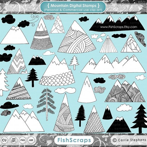 17 Best ideas about Mountain Clipart on Pinterest.