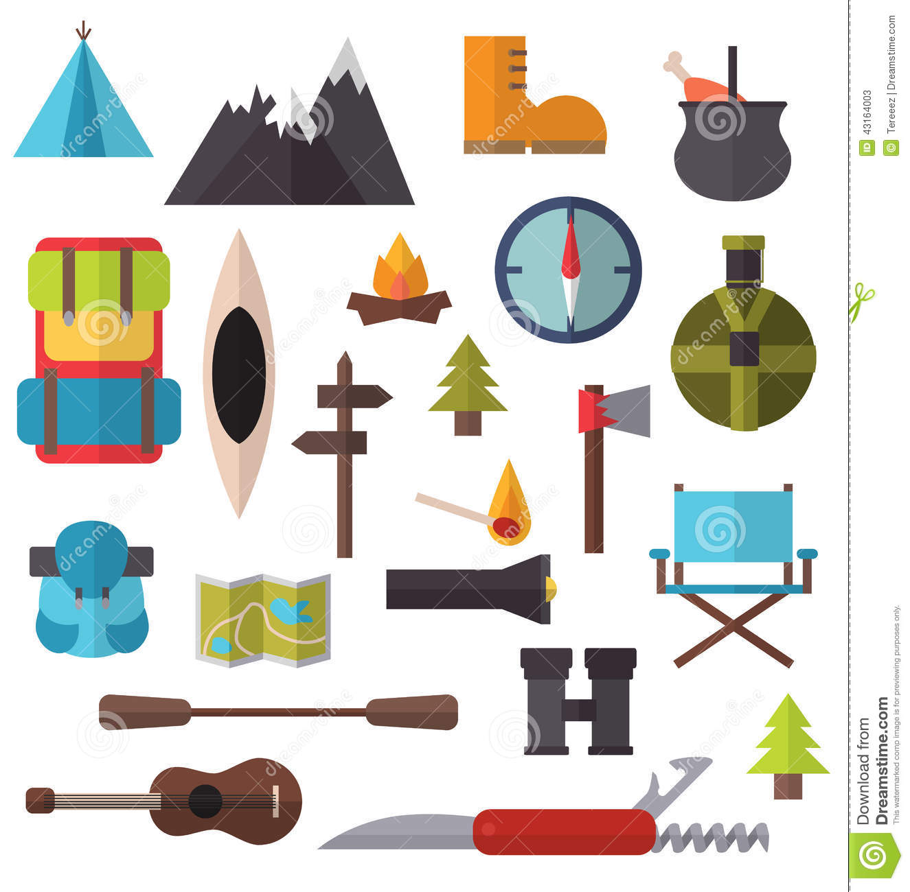 Hiking clothes clipart - Clipground