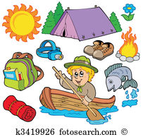 Camping gear Clip Art Royalty Free. 803 camping gear clipart.