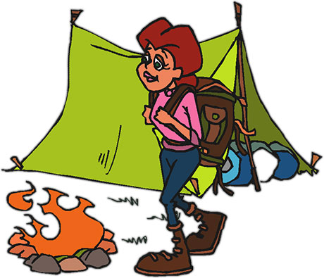 Camping Gifs.