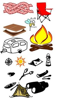 47 Best Camping Clipart images in 2015.