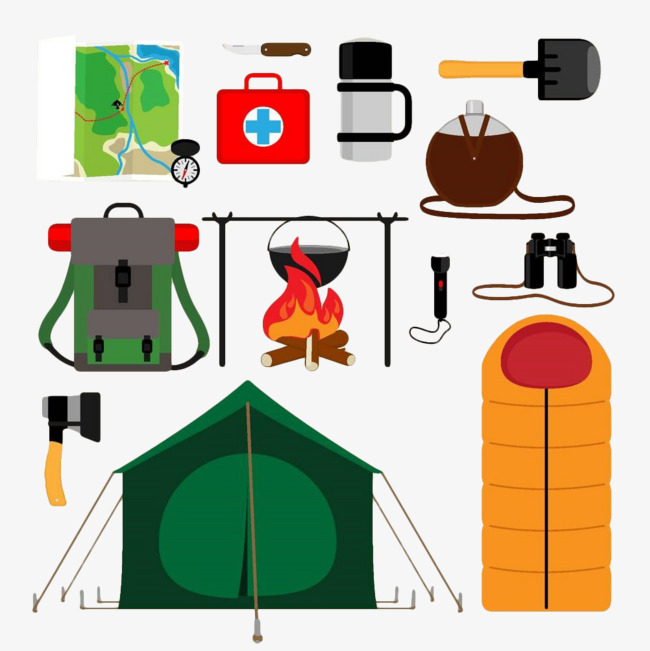 Items For Camping.