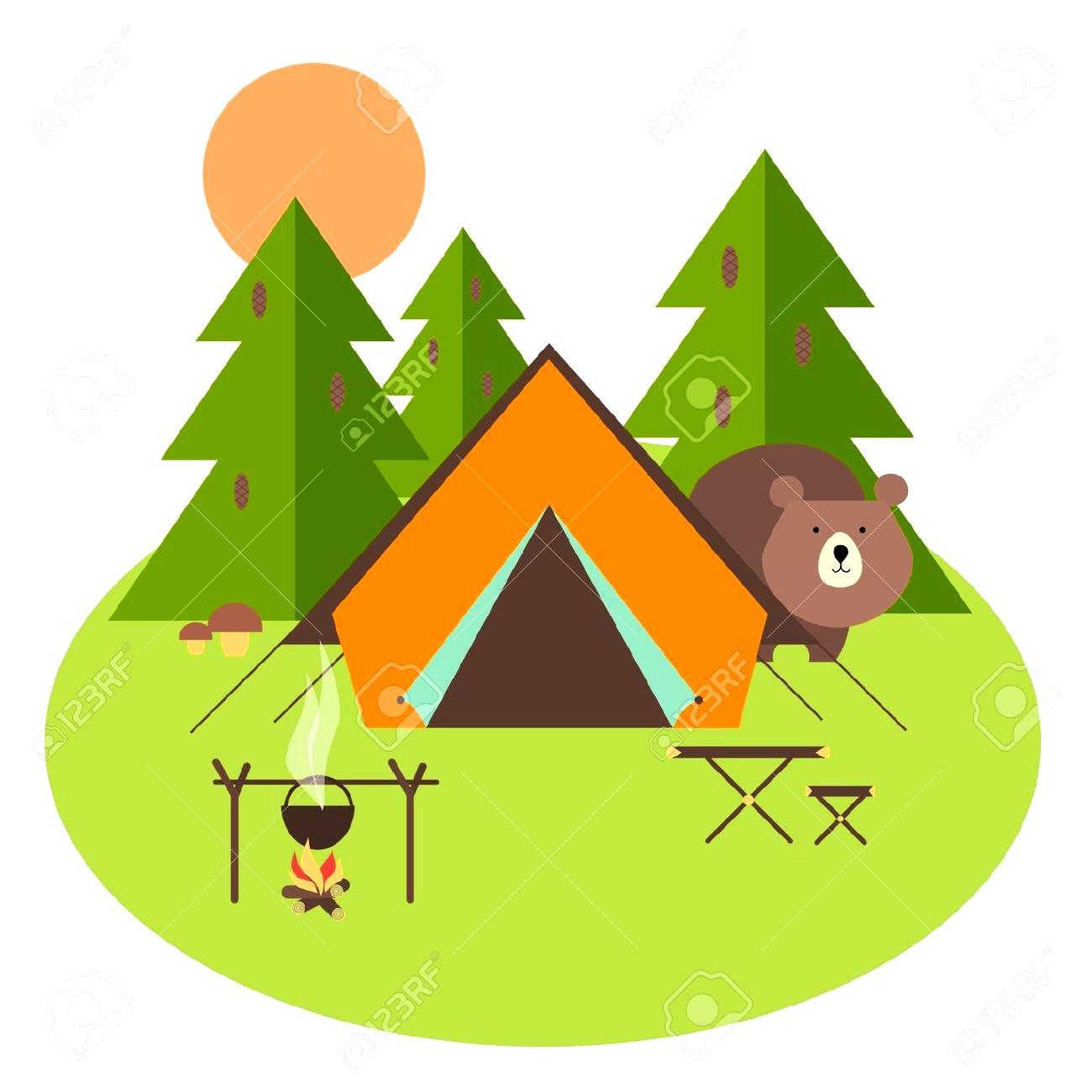 Camping Clipart at GetDrawings.com.