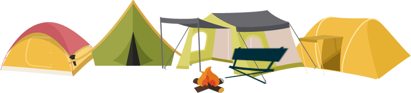 Camp PNG Transparent Images.