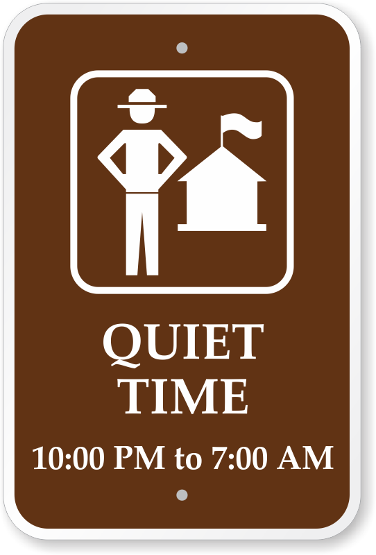 Custom Campground Signs.