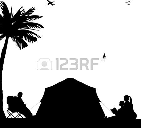 2,727 Family Camping Stock Vector Illustration And Royalty Free.