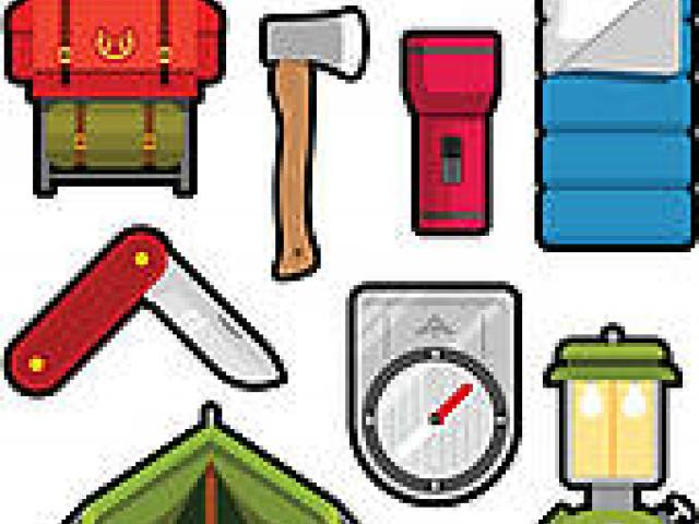 Camping Supplies Cliparts 12.