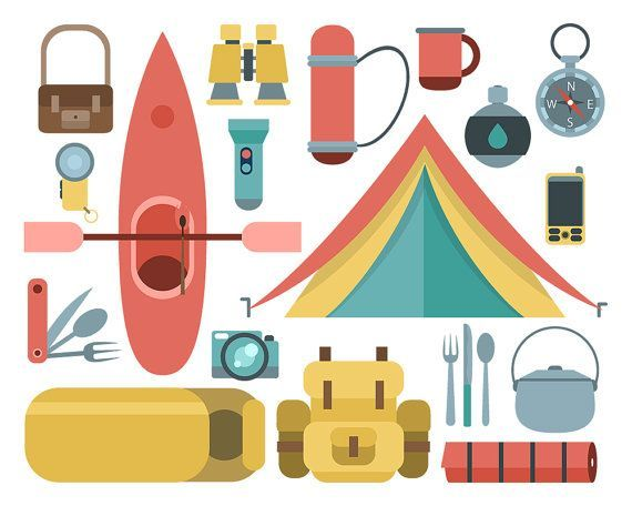 Camping supplies clipart 3 » Clipart Portal.