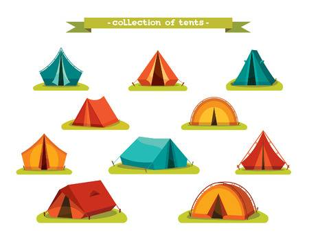 24,787 Camping Tent Stock Vector Illustration And Royalty Free.