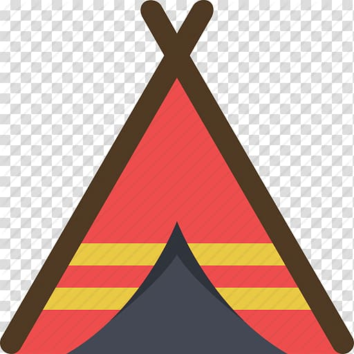 Computer Icons Camping Tent Symbol, Icon Camping transparent.