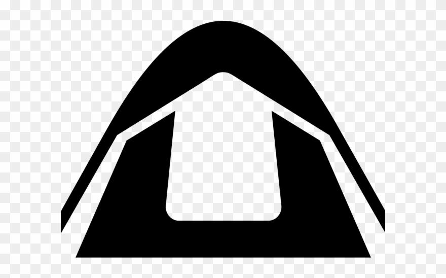 Bonfire Clipart Dome Tent.