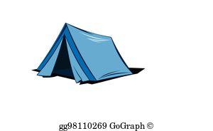 Camping Tent Clip Art.