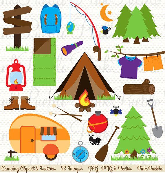 Camping clipart camping theme, Camping camping theme.