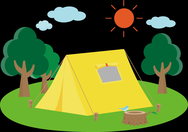 Clipart tent camping trip, Clipart tent camping trip Transparent.