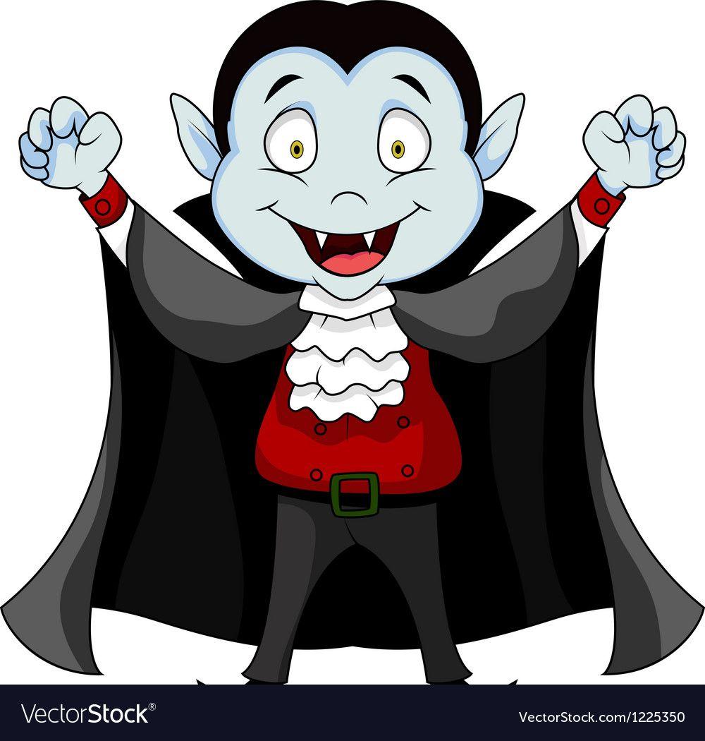 Funny Vampire cartoon Royalty Free Vector Image in 2019.