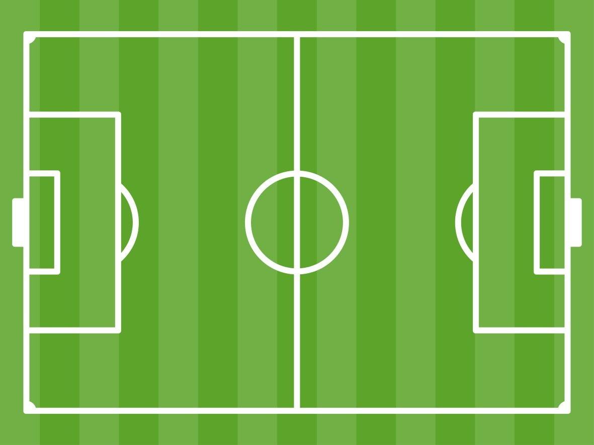 Papel de Parede Campo de Futebol.