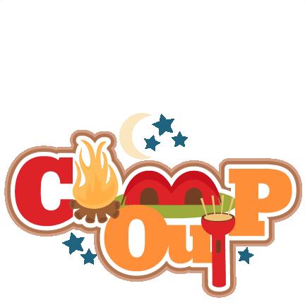 Campout Clipart.