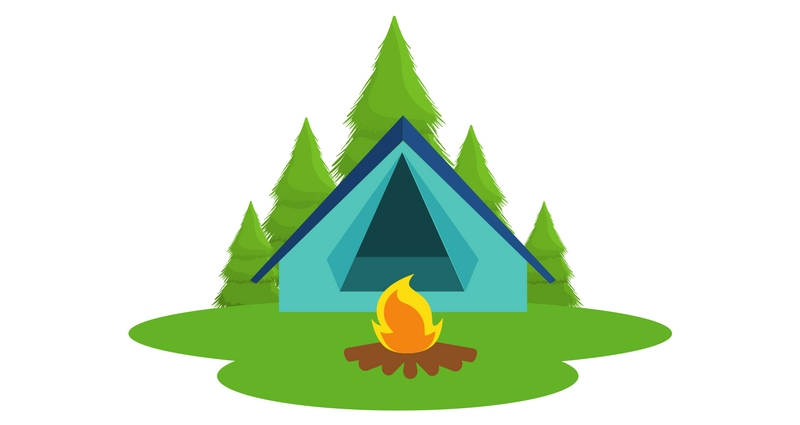 Campout Clipart (98+ images in Collection) Page 1.