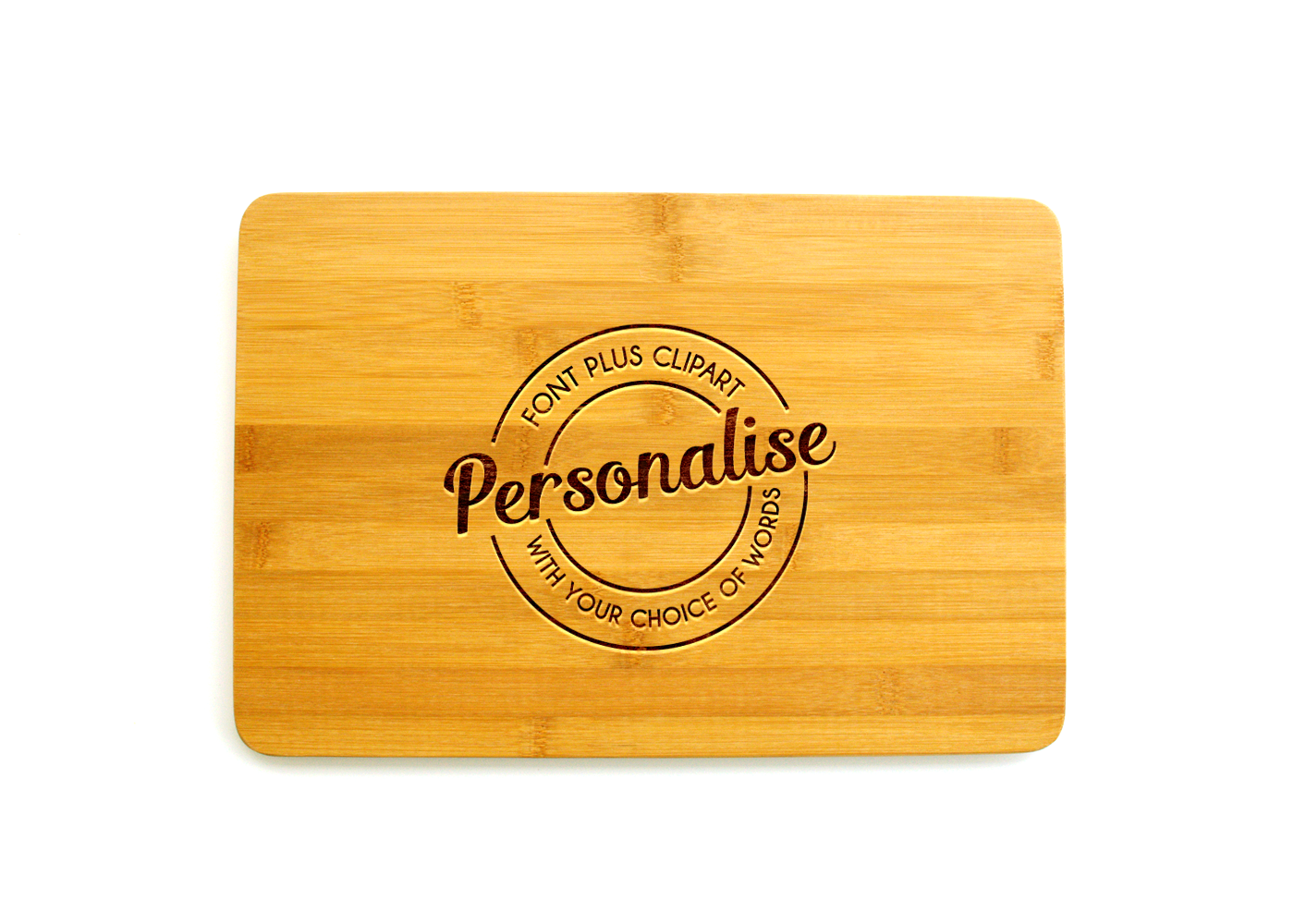Personalised Chopping Board.